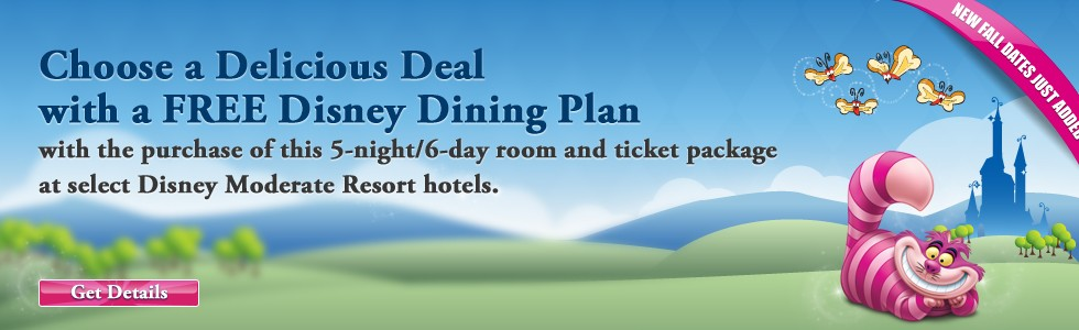 WDW Summer Free Dine Offer